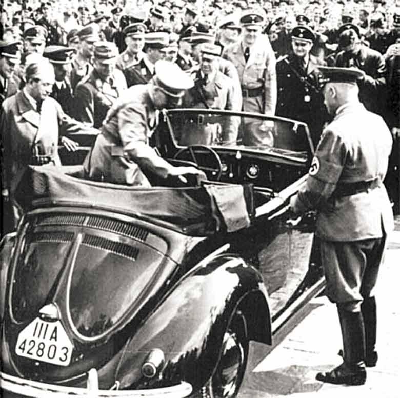 VW Buba u vreme nacista