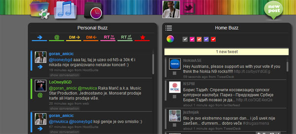 Twimbow za kolornu vizualizaciju Twitter-a