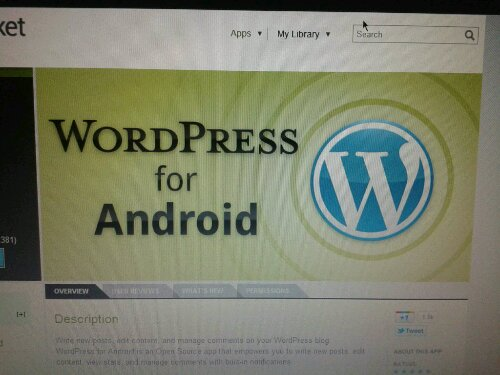 """WordPress for Android 2.0"" za mobilno blogovanje"