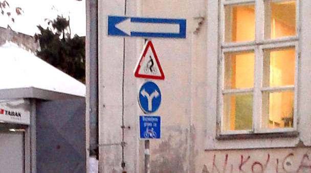 Vertikalna signalizacija – kuda vodi ovaj tok