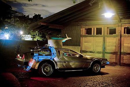 DeLorean koji stvarno leti