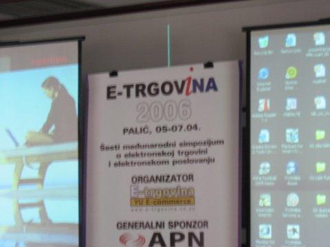 Simpozijum E-trgovina 2006 – 1. dan