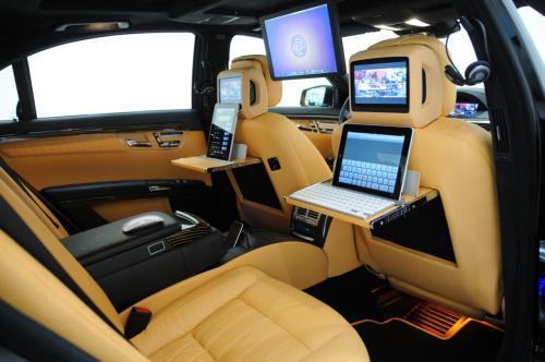 Geekovski san: Mercedes S klase Brabus iBusiness