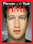 """Mark Zuckerberg – """"Time"""" ličnost godine 2010"""