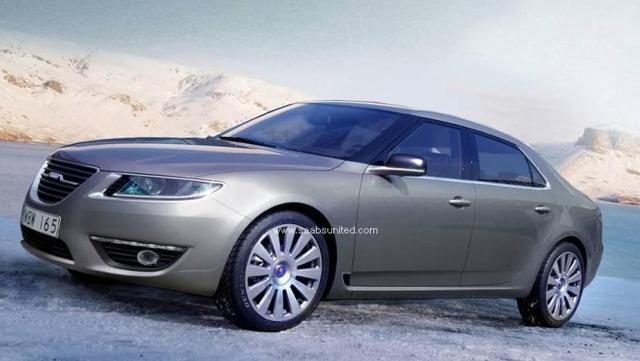 2010 Saab 9-5 – prve fotke