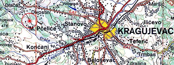 Gde je centar Srbije?