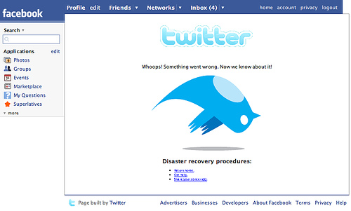 Facebook preuzima Twitter