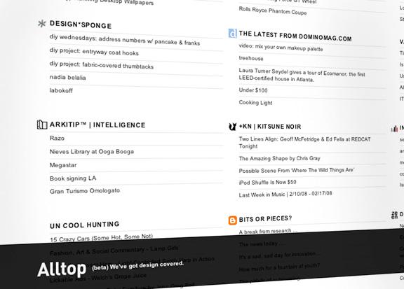 AllTop – najprostiji news agregator