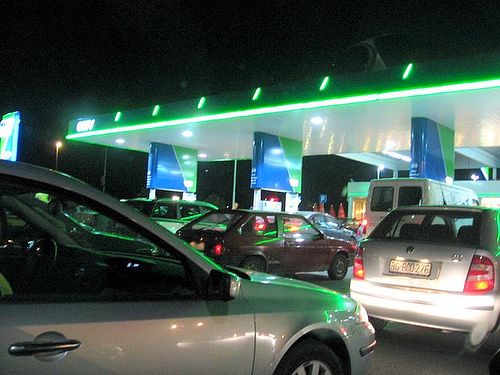 Trka za benzinom