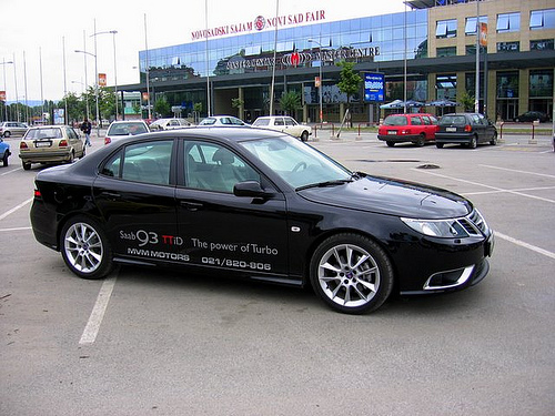 Saab 9-3 1.9 TTiD Aero – Born From Jets