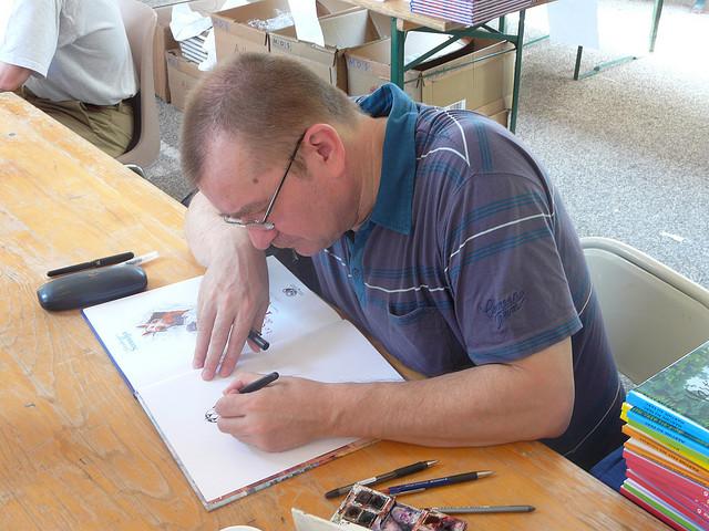 Gradimir Smuđa – od karikature do stripa