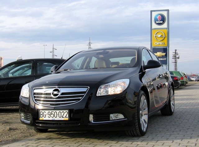 Opel Insignia mini-test