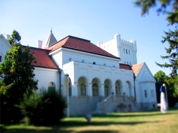 Lažne Tilt-Shift foto-minijature