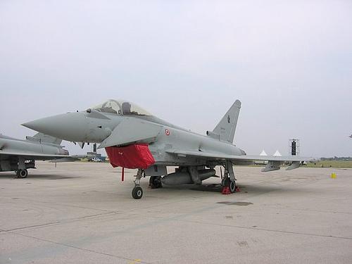 Eurofighter u akciji