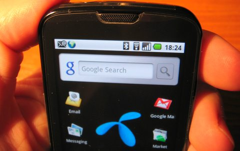 Samsung I7500 Galaxy na Google Androidu