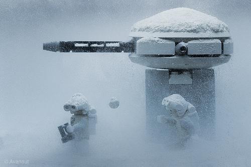 Star Wars Lego u snegu
