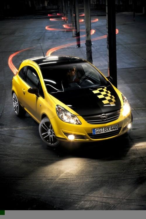 Opel Corsa Color Race posvećena Rallye Kadettu