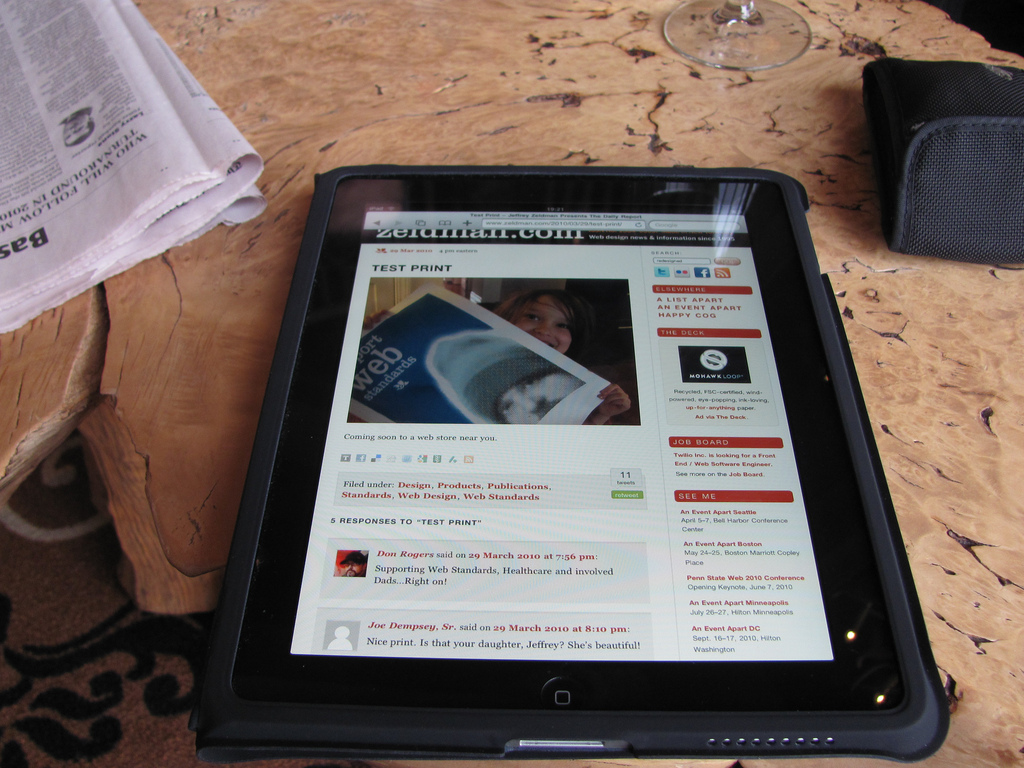 Nielsen o usabilityju iPad-a