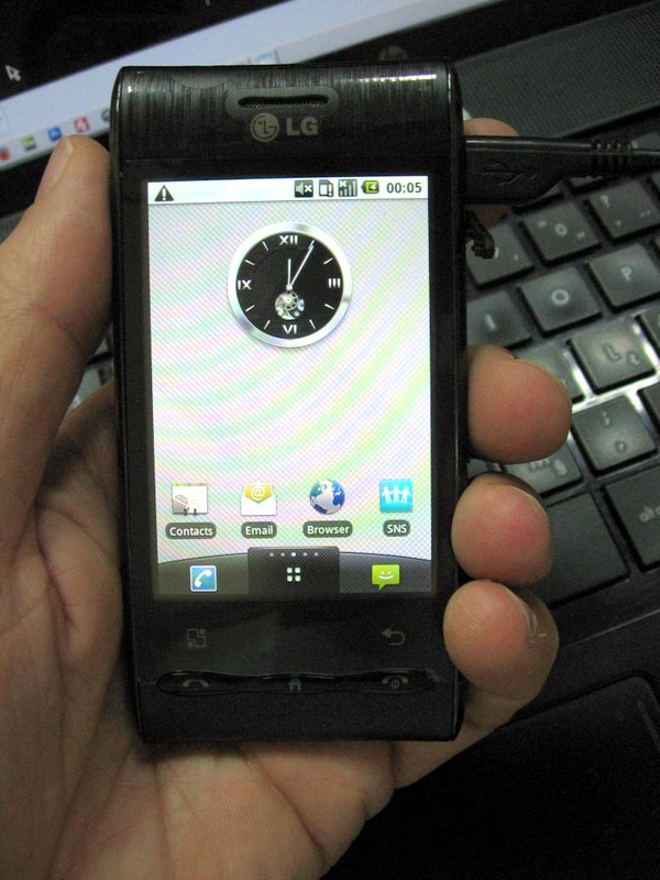 LG-jev Android – GT540