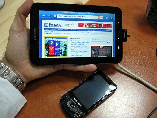 Samsung Galaxy Tab u praksi