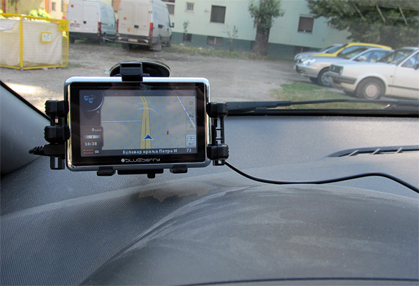 Blueberry GPS 2go434B GPS navigator