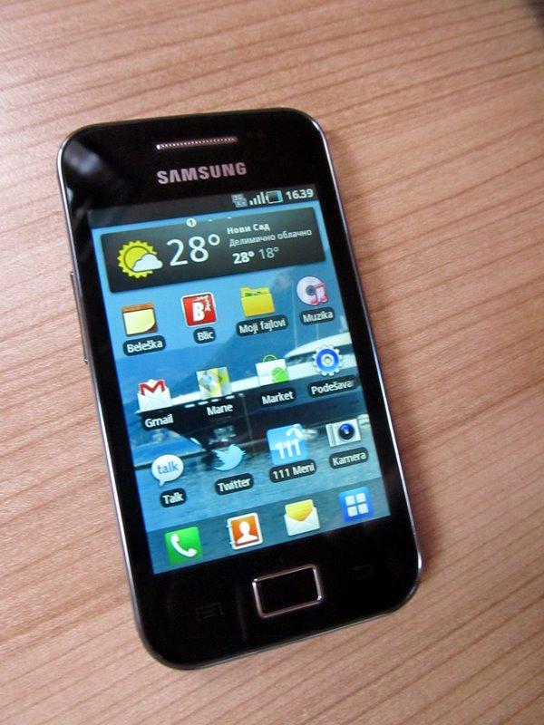 Samsung Galaxy Ace – trenutni best buy Android