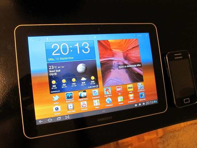 Samsung Galaxy Tab 10.1 uparen sa HSPA+ mobilnim netom do 21,6 Mb/s