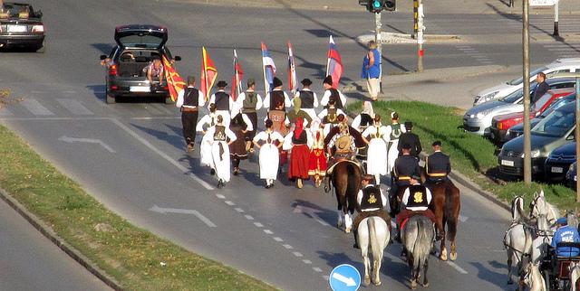 HorseVille i svečani defile fijakera