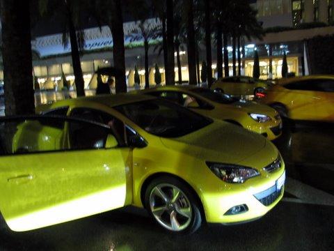 Opel Astra GTC test drive: 1 dan