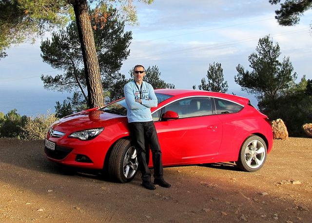 Opel Astra GTC test drive: 2. dan