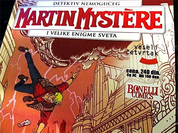 Martin Mystère – strip sa edukativnom notom