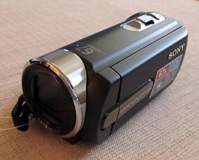 Sony DCR-SX21EB kamkorder