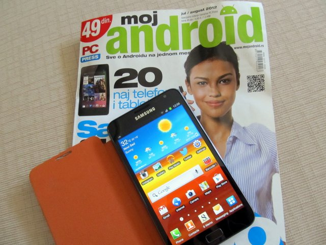 """moj android"" domaći štampani Android magazin"