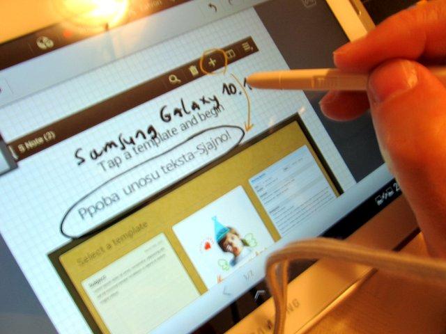 Samsung Galaxy Note 10.1 na prvi pogled