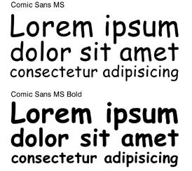 Comic Sans – za i protiv