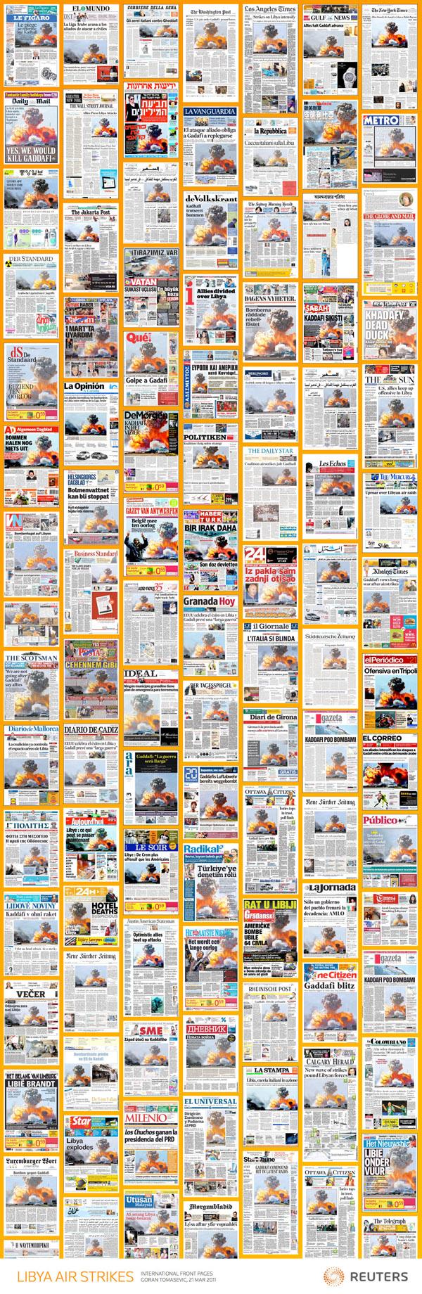 Jedna fotografija – hiljade naslovnica