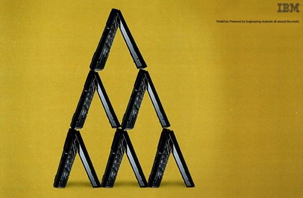 20 godina ThinkPad-a kroz print reklame