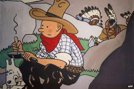 Tintin strip-naslovnica dostigla aukcijski rekord od 1,3 miliona evra