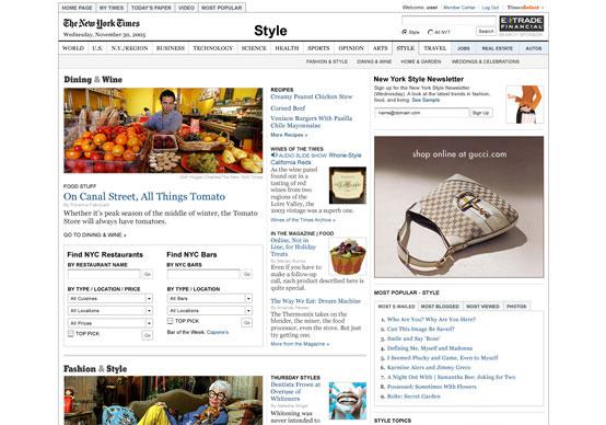 Novi NewYorkTimes.com