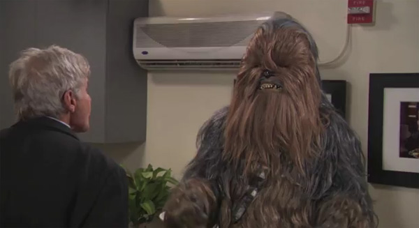 """Daniel Craig is my Wookiee Bitch Now"""