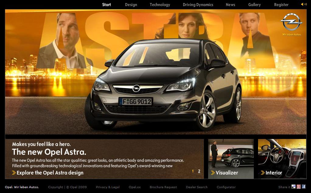 Opel Astra – E-PR praćenje lansiranja novog proizvoda