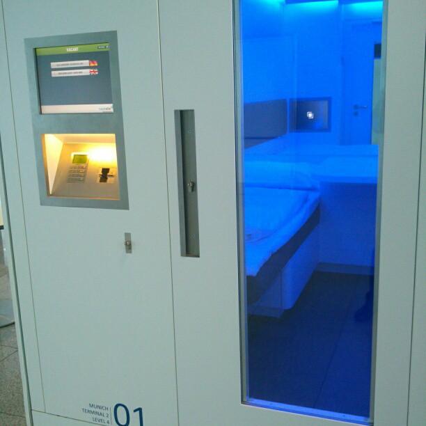 Napcab – aerodromske kapsule za spavanje