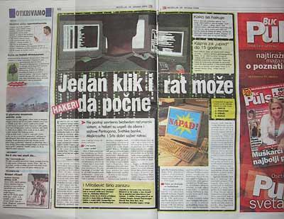"""Blic i """"Hakeraj"""""""