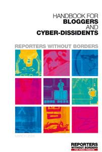 Osvežen priručnik za blogere i cyber-disidente