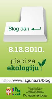 Blog dan – pisci za ekologiju