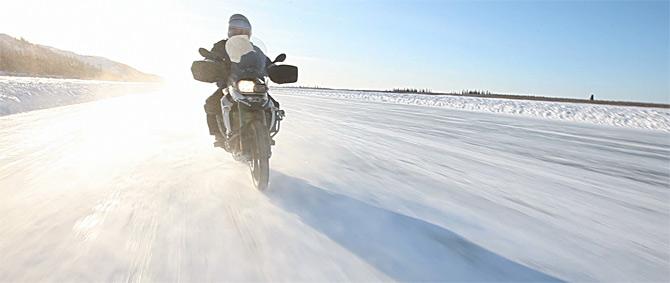 Ledenim putevima Kanade