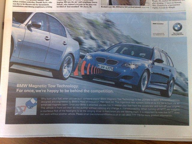 BMW-ov vučni zrak