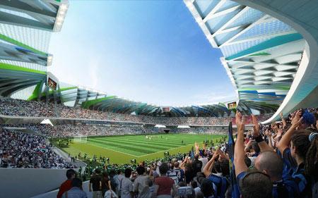 Fudbalski stadion kao umetnost