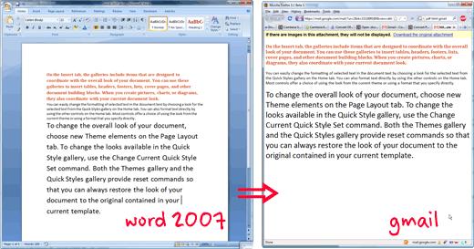 Gmail sada podržava sve Microsoft Word formate