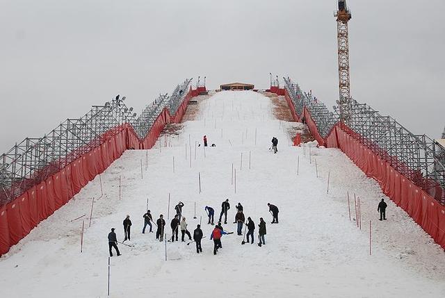 FIS slalom kup u centru Moskve